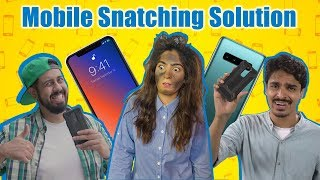 Mobile Snatching Solution | Bekaar Films | Comedy Skit