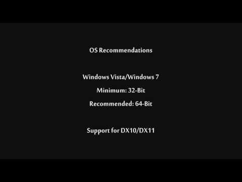 BF3 System Requirements/Hardware Recommendations
