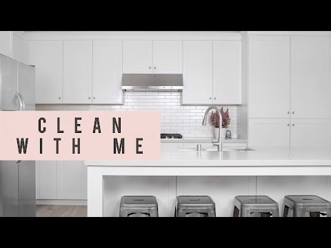 Clean with Me | Kitchen Cleaning DIY & Tips | ANN LE