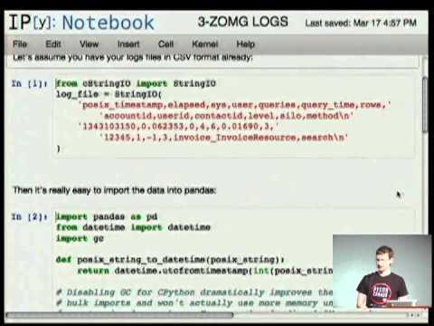Server Log Analysis with Pandas
