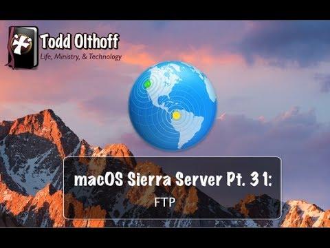 macOS Sierra Server Part 31: FTP
