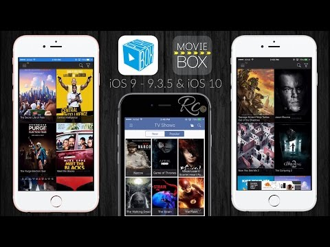 NEW Install Latest Movie Box & PlayBox HD iOS 10 - 10.2 & 9 - 9.3.5 NO Jailbreak iPhone, iPad, iPod