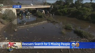 Clean Up, Recovery Continues As Montecito Supports Crews