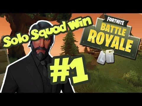 [Voxal] Fortnite: Battle Royale || SOLO SQUAD WIN #1