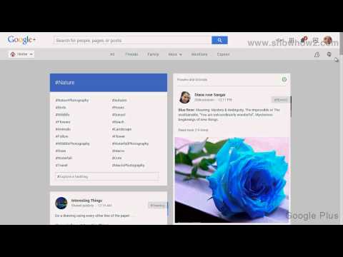 Google+ - How To See Nature Posts On Google Plus