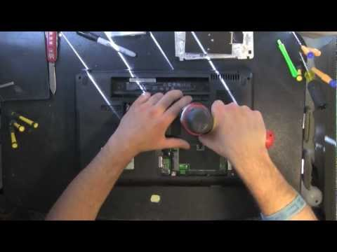 HP G60 take apart video, disassemble, how to open disassembly