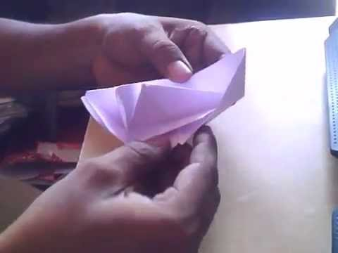 HOW TO MAKE SPECIAL PAPER BOAT