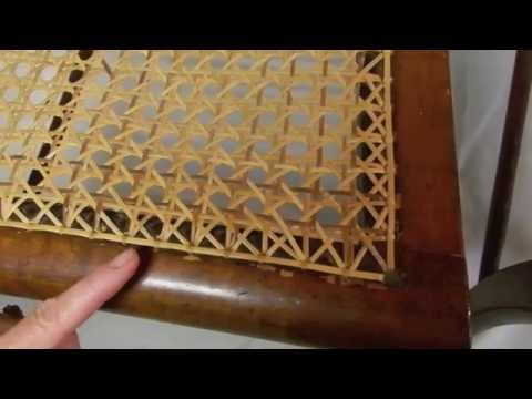 The Difference Between a Hand Caned Chair and a Pressed Cane Chair