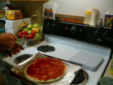 My Boboli Pizza