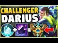 WTF? THIS DARIUS MAIN ABUSED THIS TO CHALLENGER? HOW IS THIS EVEN POSSIBLE? - League of Legends