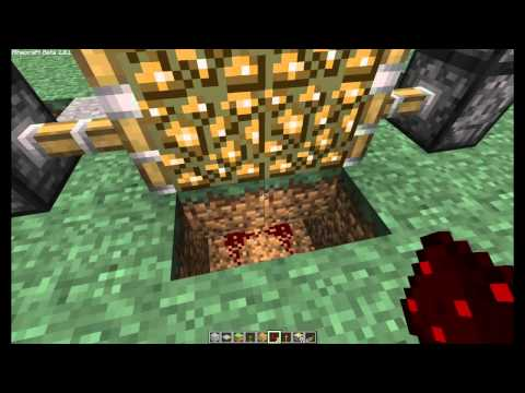 How build piston doors 1.8.1 beta MinEcrafT
