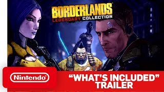 Borderlands Legendary Collection - What's Included Trailer - Nintendo Switch