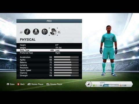 FIFA 14   Goalie Career Mode #1 - Start of My Journey!