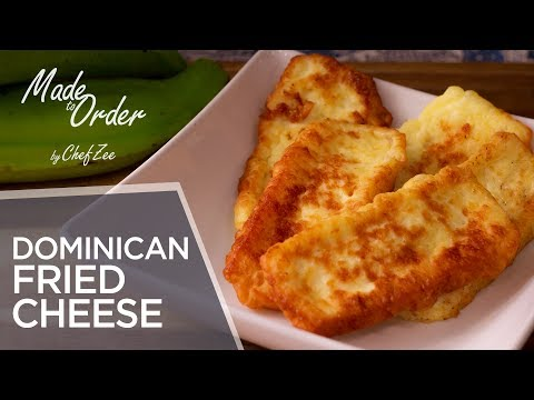 Dominican Fried Cheese | Mangu Series Ep. 3 | Dominican Recipes | Made To Order | Chef Zee Cooks