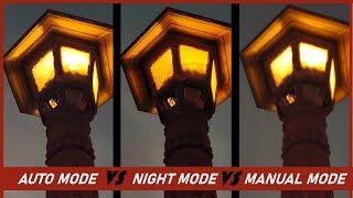 Mobile Photography at Night: Manual Mode vs Night Mode vs Auto Mode