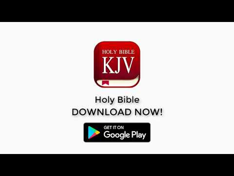 King James Bible (KJV) Offline, Audio, Free