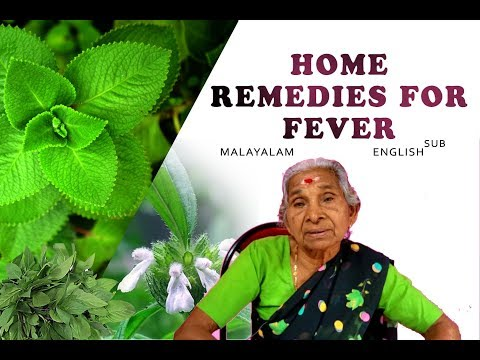How to get rid of a fever ( how to break a fever) home remedies.