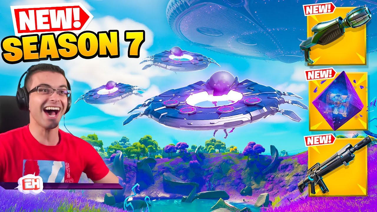 Nick Eh 30 reacts to Season 7 GAMEPLAY CHANGES!