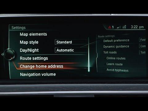 Change Home Address | BMW Genius How-To