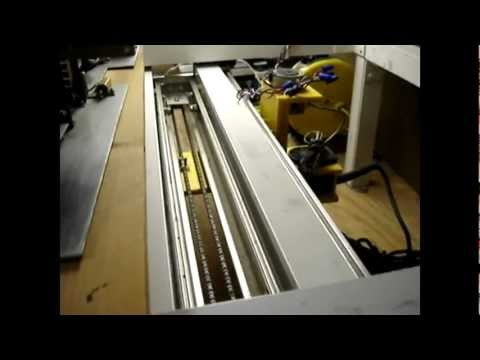 Y and Z axes CNC router motion test.avi