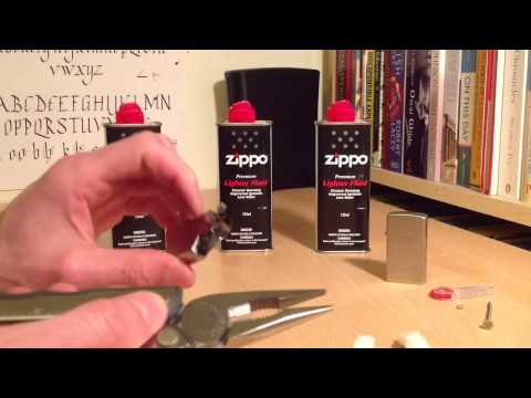 Zippo Ultimate Guide: Fuel, Wick, Flint, Rayon Replacement Guide