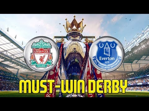 FIFA 18 Liverpool Career Mode | MUST-WIN DERBY IN TITLE RACE vs EVERTON | Episode #24