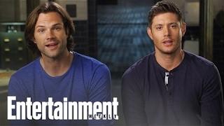 Supernatural Stars On Winning The Ew Fall Tv Cover Battle Cover Shoot