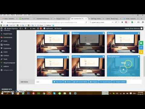Custom Essential Grid With Wistia Video Part 3