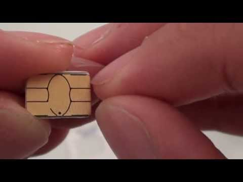 How to Cut a Normal SIM to a Nano SIM Card