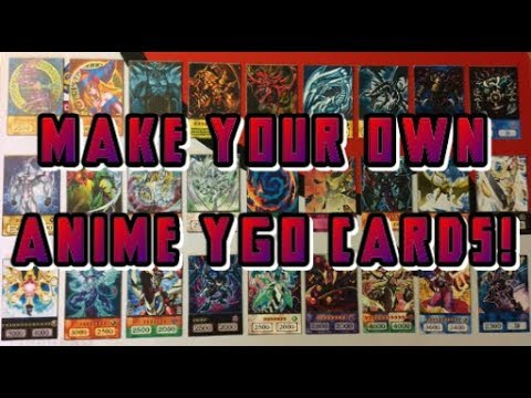S2 Ep 5: YGO DIY: Making Your Own Anime Cards [Dark Magician/Neos/Stardust Dragon +Many More]!