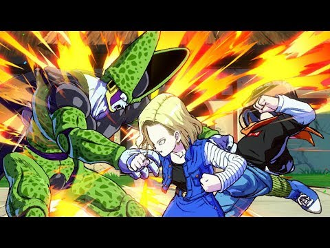 ANDROID 18 ULTIMATE TAG TEAM! FighterZ Online Battles #2 | Dragon Ball FighterZ Beta