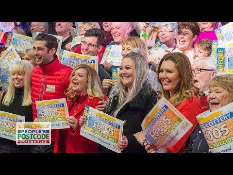 Postcode Millions Winners - S40 3AR in Chesterfield on 03/02/2018 - People's Postcode Lottery