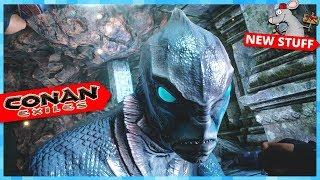 CONAN EXILES Witchcraft! Giants Pets! Underwater City! New Boss's