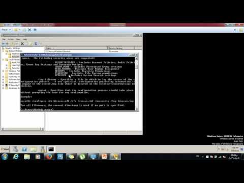 reset the Local Group Policy  to default
