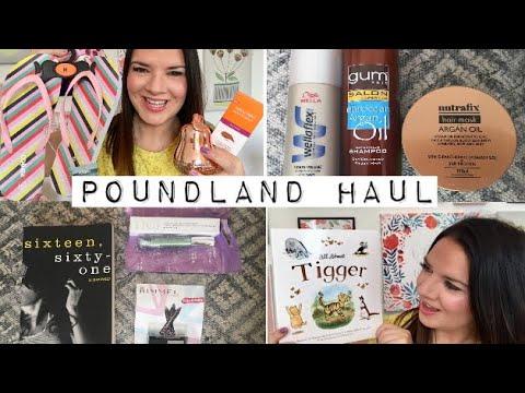 Poundland Haul! May 2018 ❤️