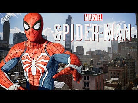 Spider-Man PS4 - Open World Map Size!