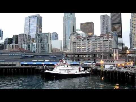 Seattle ferry heading to Bainbridge Island, WA (Bong Angeles)