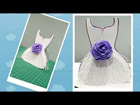 DIY- Dress Card for her| Enjoy Crafting # 61