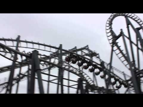 Arkham Asylum Rollercoaster Ride @ Warner Bros. Movie World on the Gold Coast, Australia