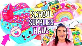 BACK TO SCHOOL SUPPLIES HAUL!  SCHOOL SUPPLIES HAUL!