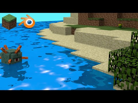 How to Make a Minecraft Scene in Blender [Tutorial]