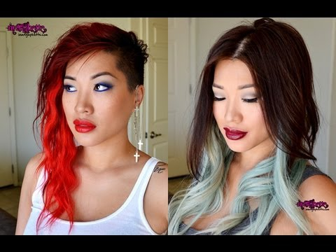 How To Strip Out Bright Red Hair Dye (plus my new hair)