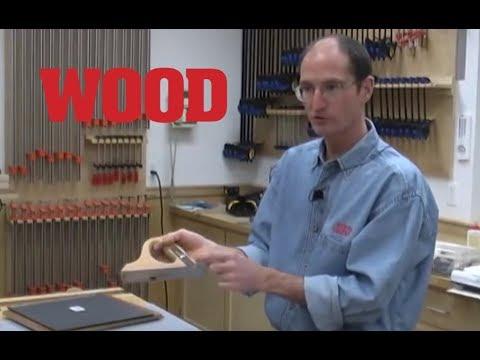 How to Cut Veneer - Veneering with Marc Adams (part 3 of 11) - WOOD magazine