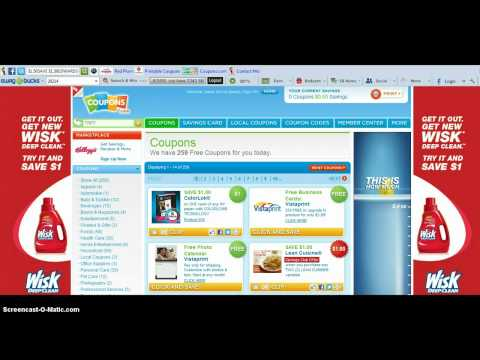Printing from Coupons.com