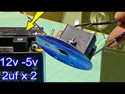 How to make a dead battery work again, simple multi function battery recovery  Make 8