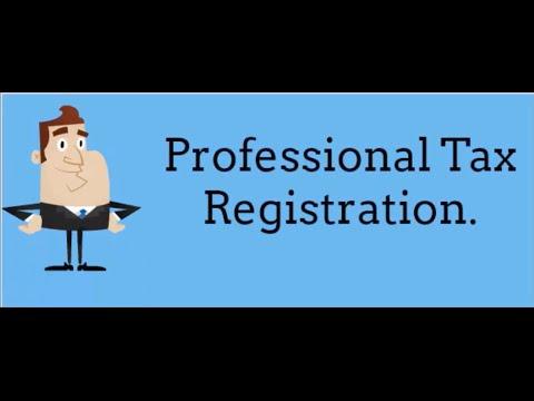 Professional Tax Registration.
