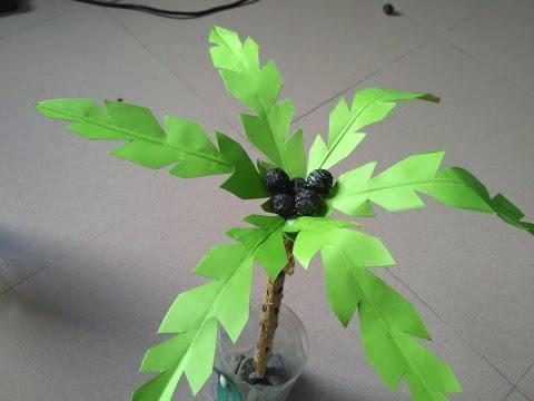 how to make a paper palm tree creative arts