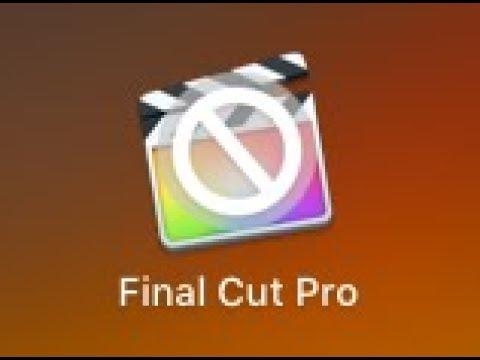 How to fix Final Cut Pro X on macOS High Sierra