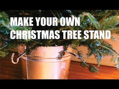 DIY Cristmass Tree Stand - Homemade Video Tutorial