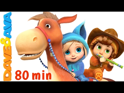 🤠 Yankee Doodle | Kids Songs | Nursery Rhymes and Songs for Kids from Dave and Ava 🤠
